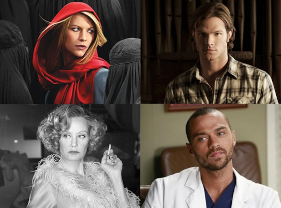Claire Danes, Jared Padalecki, Jessica Lange, Jesse Williams