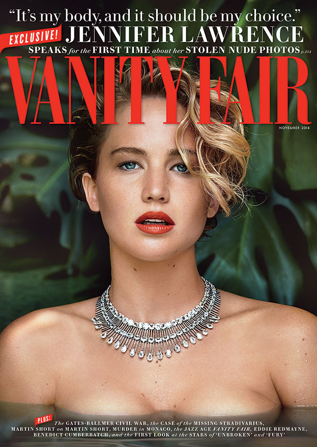 Jennifer Lawrence, Vanity Fair, November