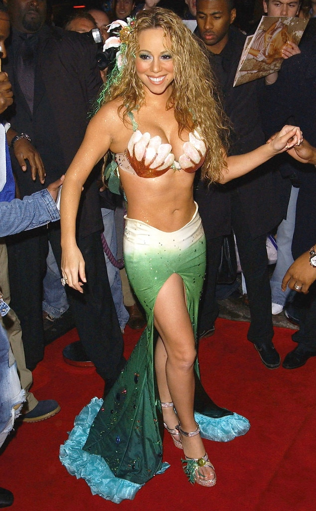 Mariah Carey as a Mermaid from Stars' Sexiest Halloween Costumes ...