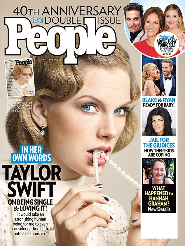 Taylor Swift, People Magazine