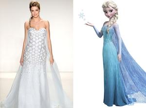 Elsa, Frozen, Disney Princess, Wedding Dress
