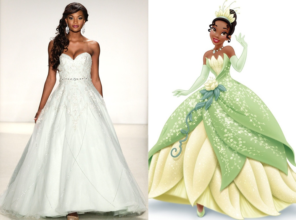 Tiana from alfred angelo s disney princess wedding gowns e news