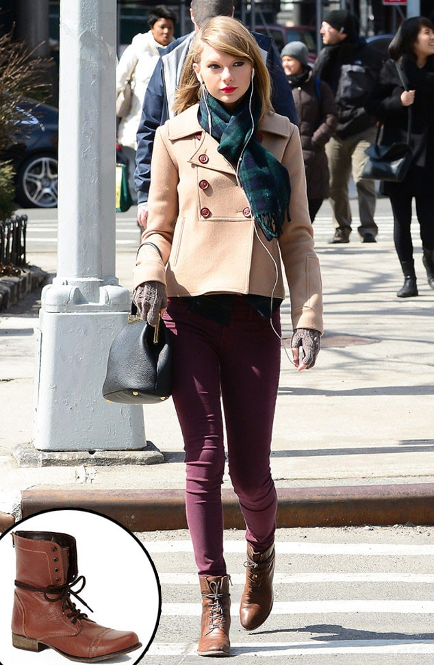 Taylor Swift 39 S Combat Boots From Fall 2014 Shoes Boots Guide E News