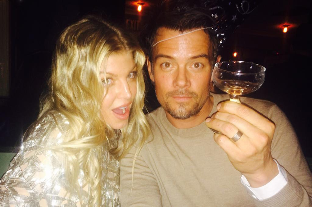 Fergie, Josh Duhamel, New Years Eve
