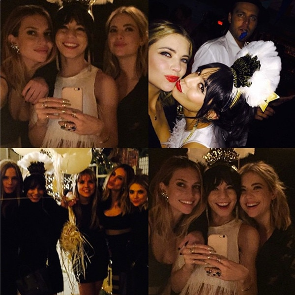 Ashley Benson, New Years Eve