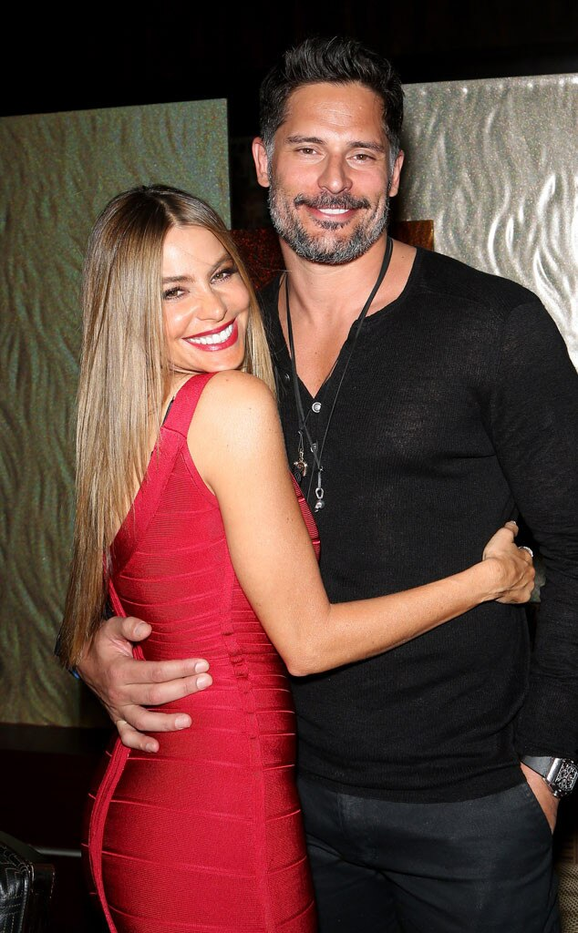 Sofia Vergara, Joe Manganiello, New Year's Eve 2015