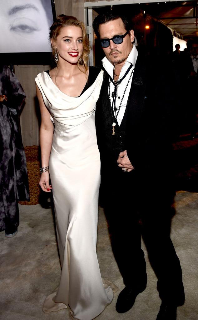 Monochrome Couple from Amber Heard's Best Looks | E! News