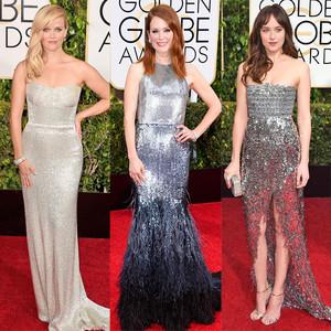 Metallic Frocks, Golden Globes
