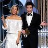 Kristen Wiig, Bill Hader, Golden Globes