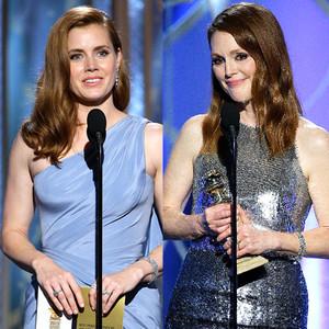 Amy Adams, Julianne Moore, Golden Globes