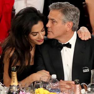 Amal Clooney, George Clooney, Golden Globes