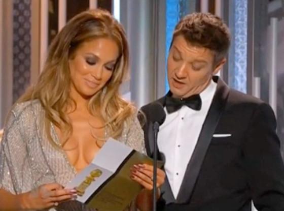 Jennifer Lopez, Jeremy Renner, Golden Globes
