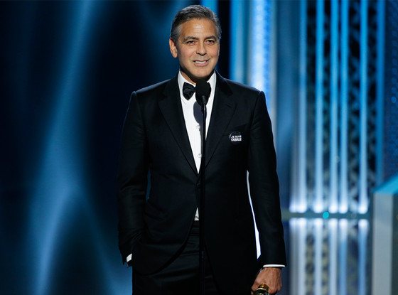 George Clooney, Golden Globes