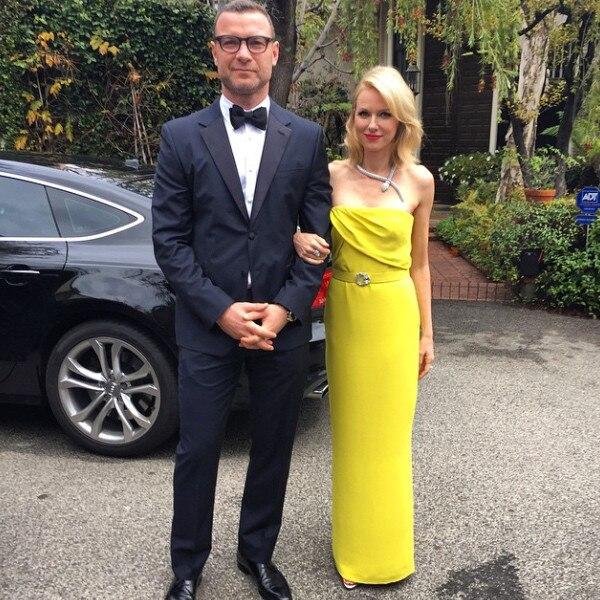 Naomi Watts & Liev Schreiber from 2015 Golden Globes ...