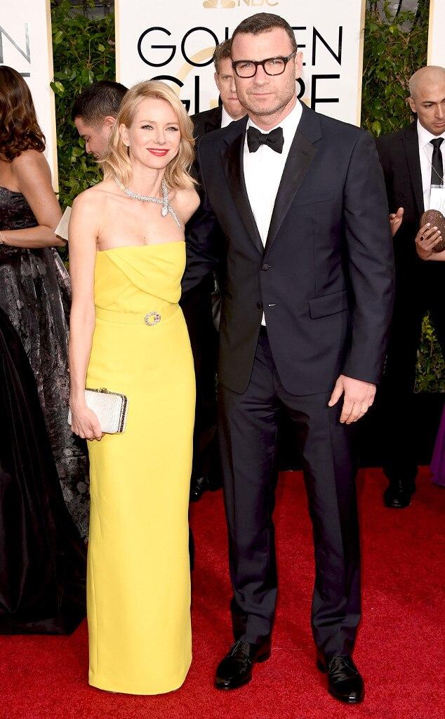 Naomi Watts, Liev Schreiber, Golden Globes
