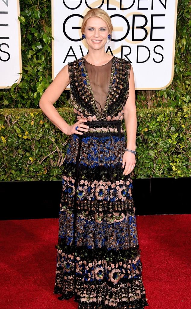 Claire Danes, Golden Globes