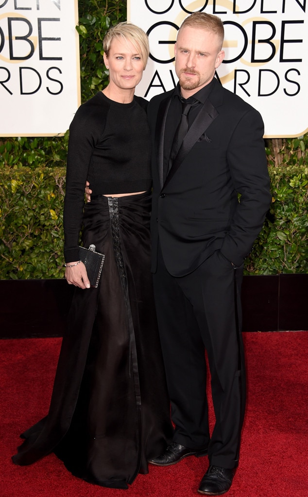 Robin Wright & Ben Foster Split and Call Off Their ...