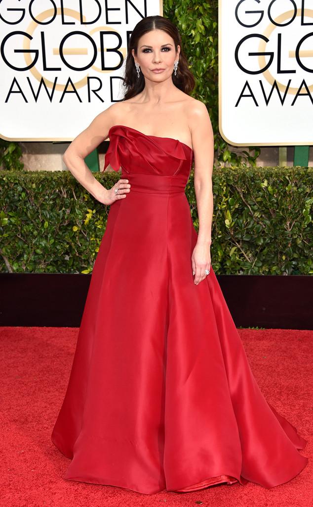 Catherine Zeta-Jones, Golden Globes, 2015