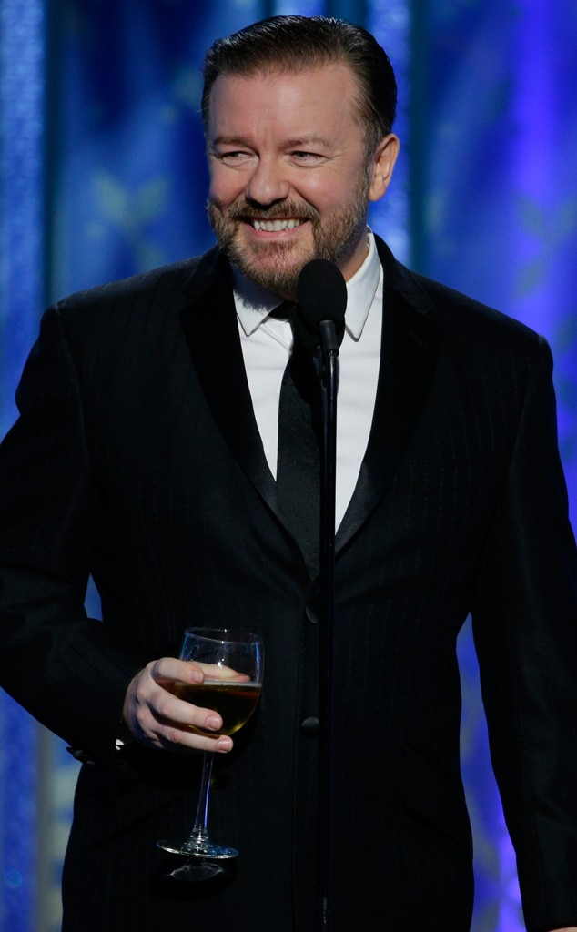 Ricky Gervais, Golden Globes