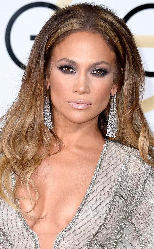Jennifer Lopez From Get The Look 2015 Golden Globes Hair