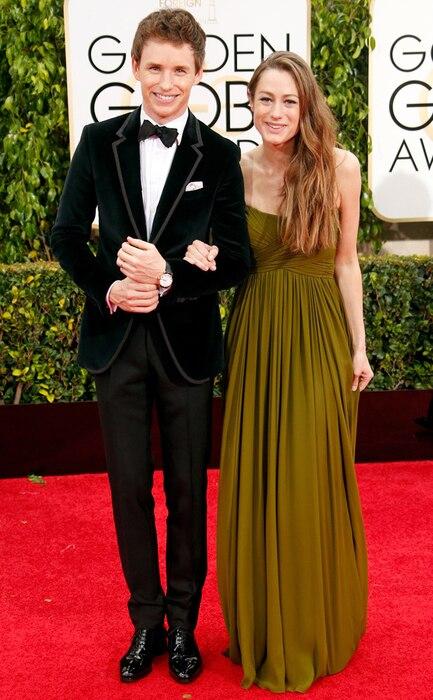 Eddie Redmayne, Hannah Bagshawe, Golden Globes
