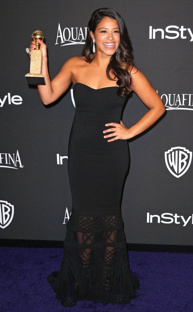 Gina Rodriguez, Golden Globe, After Party