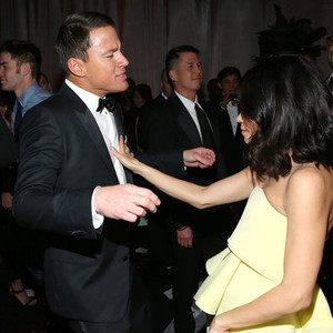 Channing Tatum, Jenna Dewan, Paul Rudd, Golden Globe, After Party