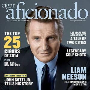 Liam Neeson, Cigar Aficionado