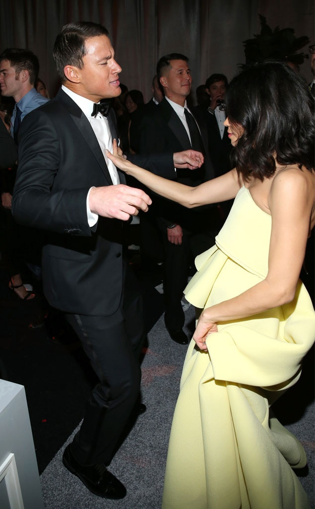 Channing Tatum, Jenna Dewan, Paul Rudd, Golden Globe, After Party