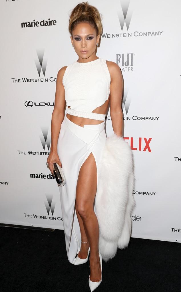 Jennifer Lopez, Golden Globes Afterparty