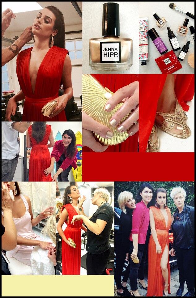 Lea Michele, Jenna Hipp, Golden Globes