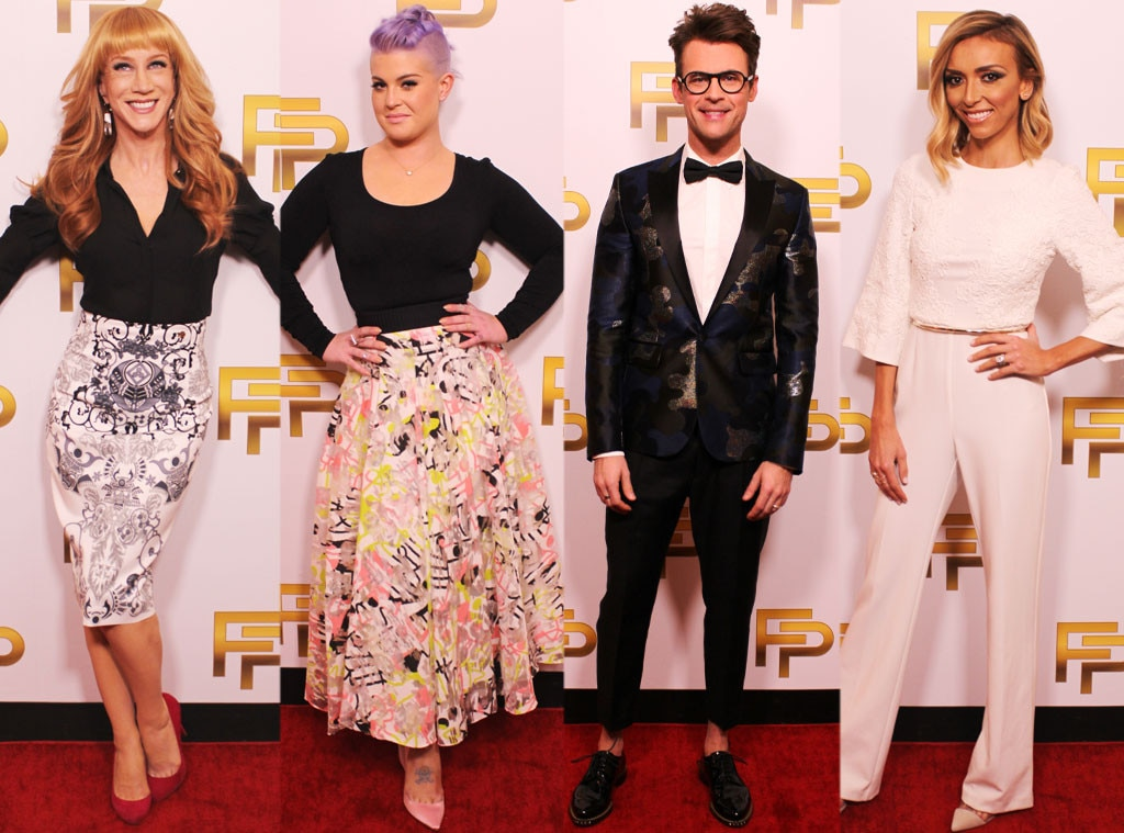 The 10 Biggest Moments From The Return Of The All New Fashion Police With Kathy Griffin On