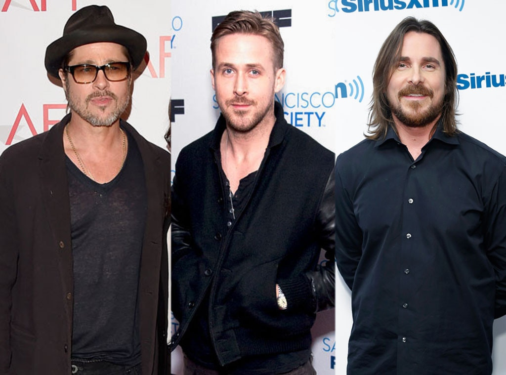 Brad Pitt, Ryan Gosling, Christian Bale, The Big Short