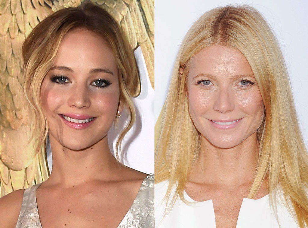 Jennifer Lawrence, Gwyneth Paltrow