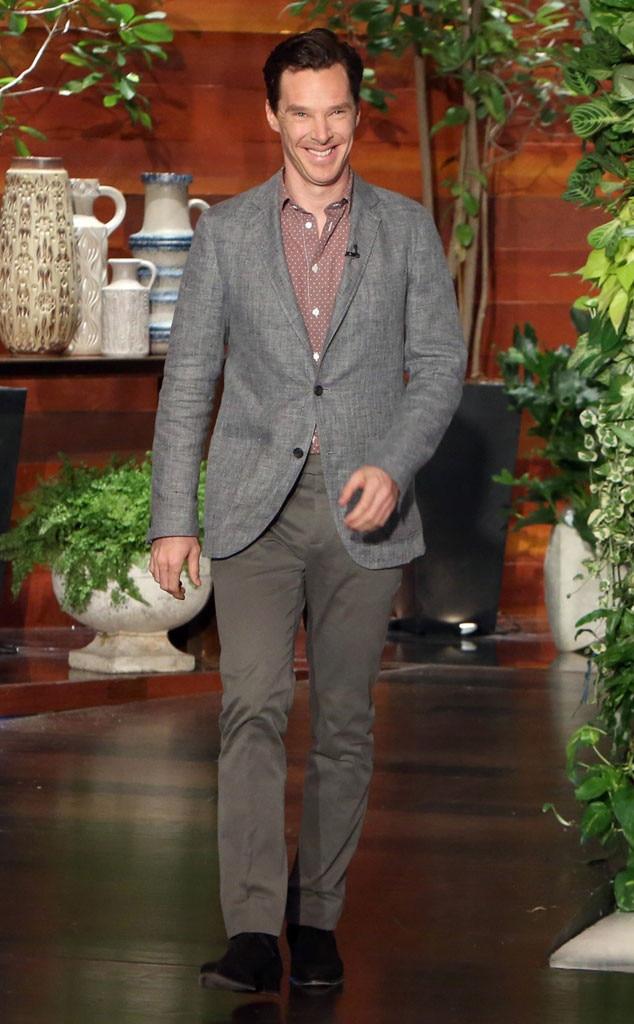 Benedict Cumberbatch, Ellen DeGeneres