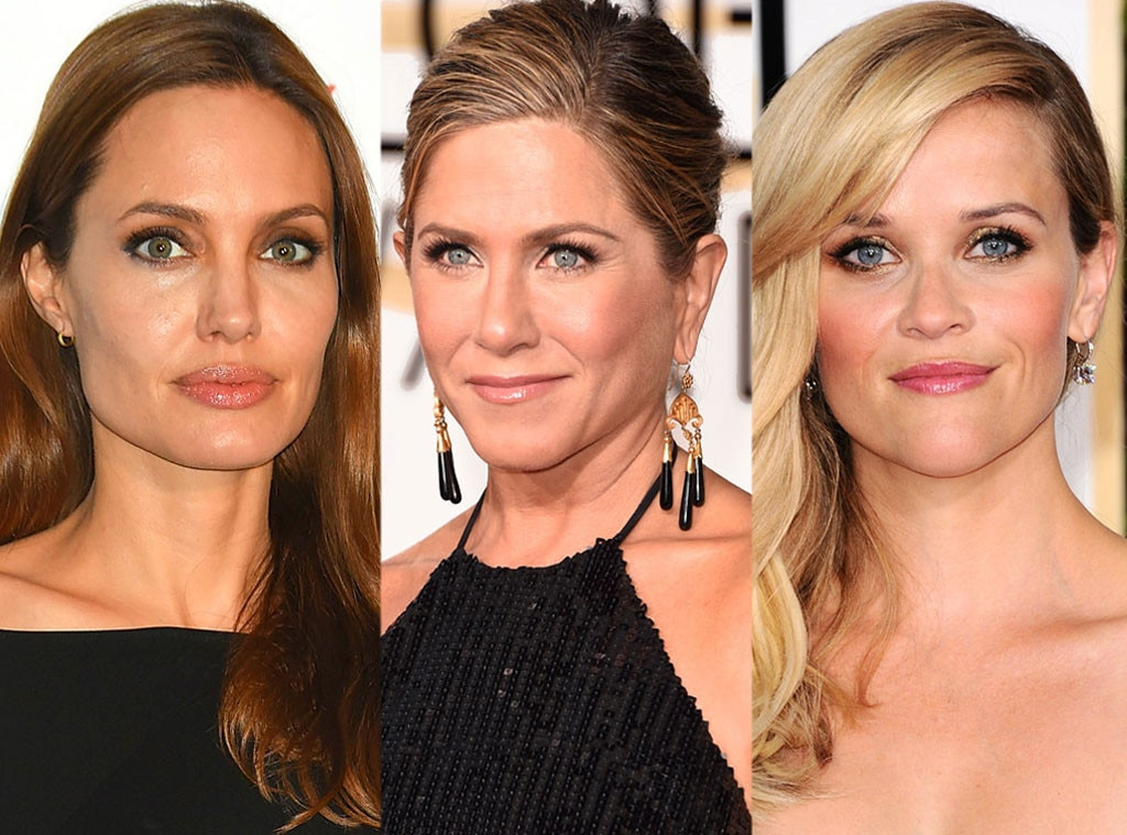 Angelina Jolie, Jennifer Aniston, Reese Witherspoon