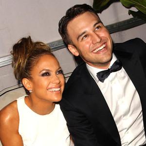 Jennifer Lopez, Ryan Guzman, Golden Globes Afterparty