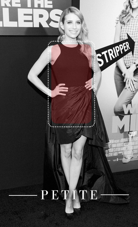 Style Collective, Best Gown, Petite, Emma Roberts
