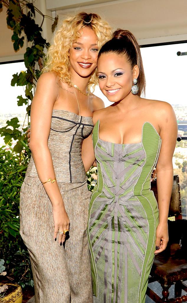 Christina Milian, Rihanna