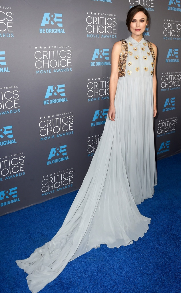 Keira Knightley, Critics' Choice Awards