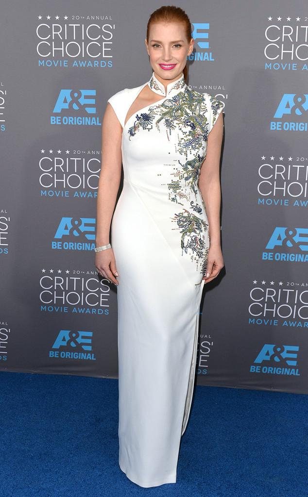 Jessica Chastain, Critics' Choice Awards
