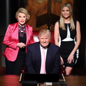 Joan Rivers, Donald Trump, Ivanka Trump