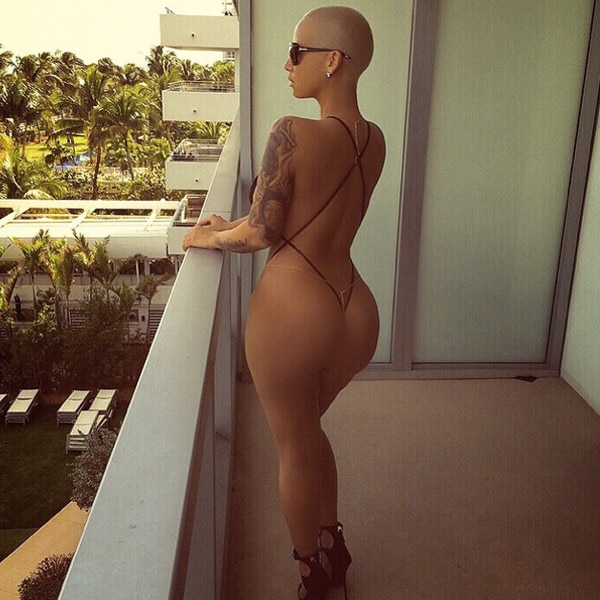 Amber Rose, Censored
