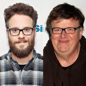 Seth Rogen, Michael Moore