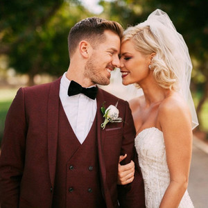 Kimberly Caldwell, Jordan Harvey, Wedding