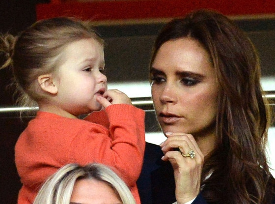Harper Beckham Rides a Pony: See the Adorable Pic! | E! News