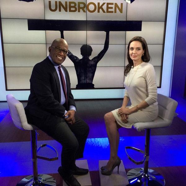 Angelina Jolie, Al Roker, Twitter