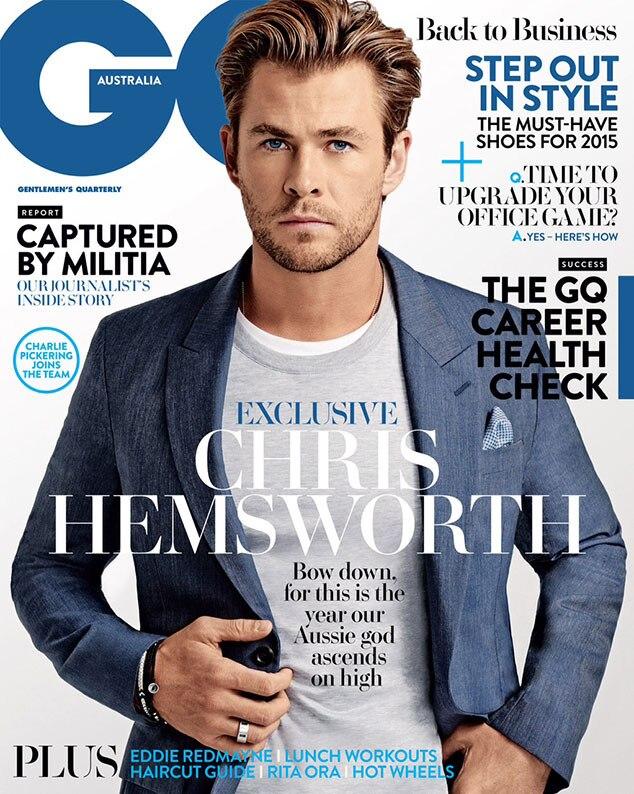 Chris Hemsworth, GQ AUSTRALIA