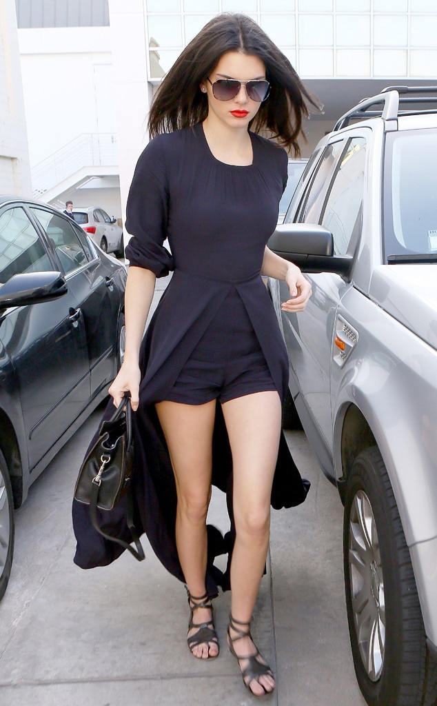 Legs Out From Kendall Jenner S Leggiest Looks E News