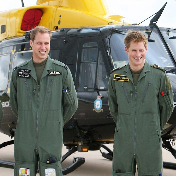 Royal Wingman From Prince Harry: Royal And Rugged